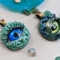 Mermaid Eye Pendant
