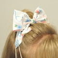 Coffee and Donuts Bow Ear Saver for Ear Loop Face Masks