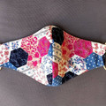 Quality Floral Face Mask, cotton, reusable, triple layered, made in Melbourne