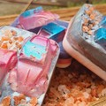 Organic vegan homemade soap bar. Mermaid and cars!