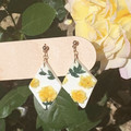 Yellow English Roses Collection - Rhombus