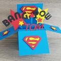 Superman Card in a Box
