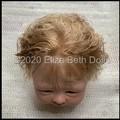 Dark Blonde Suri Alpaca fibre - over 7g ( 1/4oz) in bundle