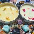 Organic homemade moisturiser argan oil, jojoba oil, coconut, rose oil, hemp oil,