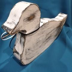 Folk Art - BoHo duck ornament