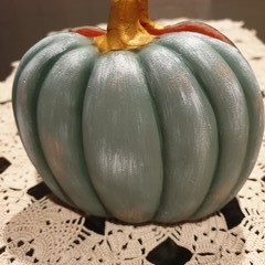Folk Art - Pumpkin serviette holder
