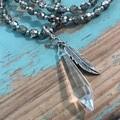 Latte Shimmer Necklace (026)