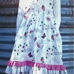 Australian Butterflies, Birds & Flowers Summer Dress