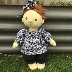 Dinkum Dolls  Bloomers and top  to fit 38cm Dolls