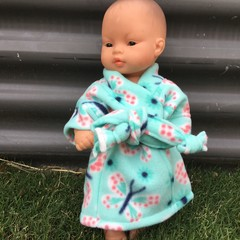 Miniland  Dolls Dressing Gown to fit 32cm  dolls
