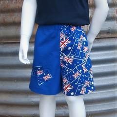 Aussie Theme Shorts