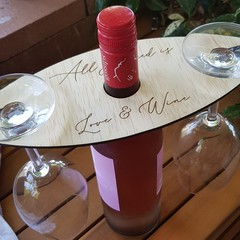 Wine Caddy ~  perfect for Valentines day