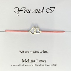 Bracelet - Hearts - Stainless Steel