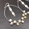 Yellow Agate Statement Earrings