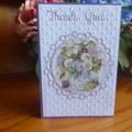 THANK YOU CARD  (FREE POSTAGE)