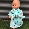 Miniland  Dolls Dressing Gown to fit 32cm  dolls