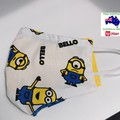 Minions small for kids. Triple cotton with nosewire and filter pocket