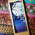 Cherry Tree/Moon Bookmark