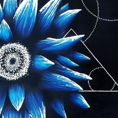 Blue Night Flower