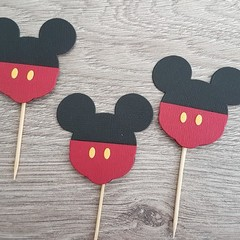 Cupcake Toppers - Mickey Mouse