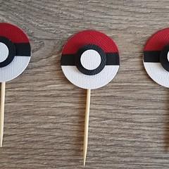 Cupcake Toppers - Pokemon