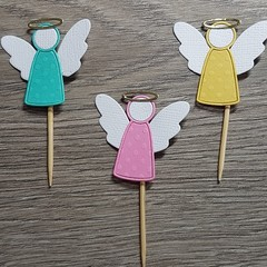 Cupcake Toppers - Angels