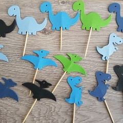 Cupcake Toppers - Dinosaurs