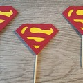 Cupcake Toppers - Superman