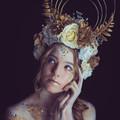 Beautiful Goddess Head Piece- Used once