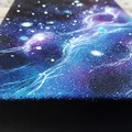 Serene Night - Mini Acrylic Galaxy Painting