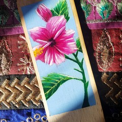 Hibiscus Bookmark