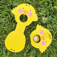 Easter Gift Bag - egg pouch, treat bag x 6 **FREE POST**