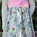Aussie Floral & Possum Summer Dress-Size 3