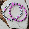 Fuchsia Bracelet Set