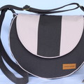 Canvas crossbody or shoulder bag