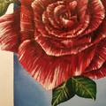 The Rose - Acrylic Painting