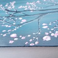 Abstract Cherry Tree Painting