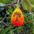 Sunset Tree Earrings