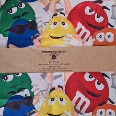 Beeswax Wrap M&M's