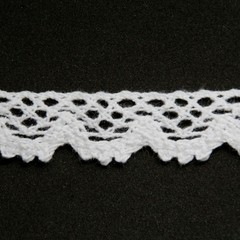 2m x 20mm Cluny Lace