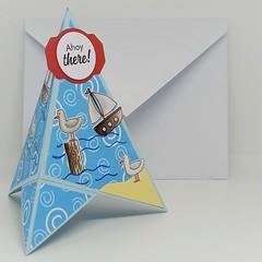 Tee Pee Fold Card
