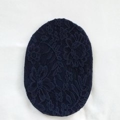 Stoma/ Ostomy Cover - REGULAR  NAVY LACE/NAVY