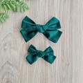 Material pinwheel bow