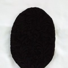 Stoma/ Ostomy Cover - Regular BLACK LACE