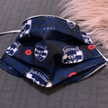 Face Mask with Filter Pocket ,Adults Geelong football club Face Mask
