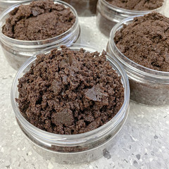Emulsified Coffee & Brown Sugar Scrub | Large 250g Jar
