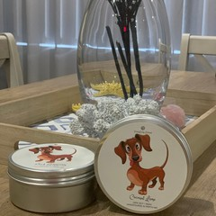 Dachshund Soy Candle, Sausage Dog Soy Candle, Dachshund Gifts
