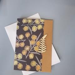 Australian flowers card