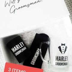 Groomsman Proposal Box (3pc)
