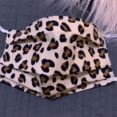 Face Mask with Filter Pocket ,Adults Animal Print Face Mask with Filter Pocket